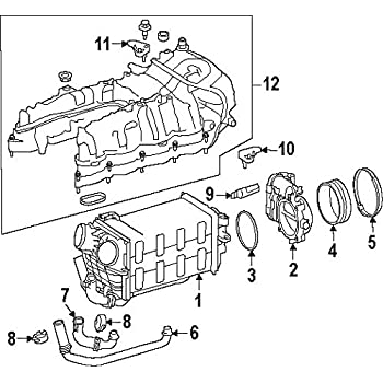 Amazon Com Mercedes Benz 006 153 99 28 Manifold Absolute Pressure