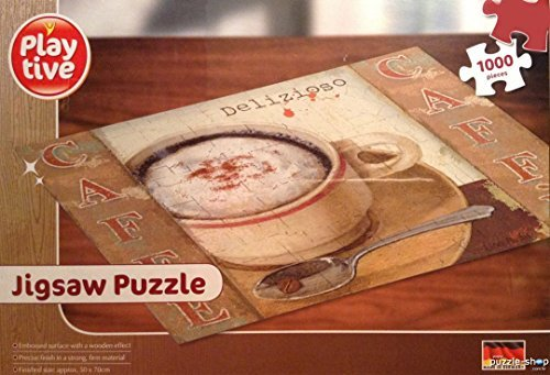 PLAYTIVE CAFE DELIZIOSO JIGSAW PUZZLE (1000 PIECE) COFFEE/LATTE/CAPPUCCINO by PLATIVE