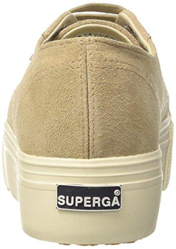 Superga Beige Femme 2790 Baskets Suew 4qrFUR4n