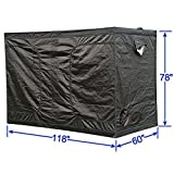 118″x60″x78″ Mylar Hydroponic Grow Tent for Indoor Plant Growing, Upgraded, Eco-friendly!