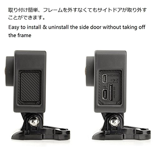 Taisioner Protective Housing Case Lens Cover with UV Filter Suit for GoPro Hero4 3 3+ Accessories