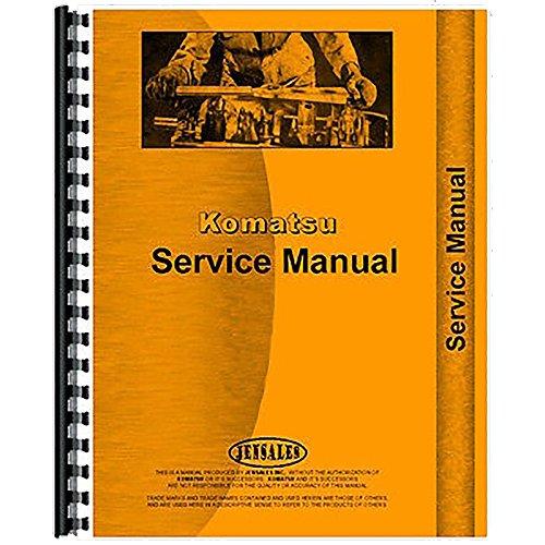 New Komatsu D80a Crawler Service Manual