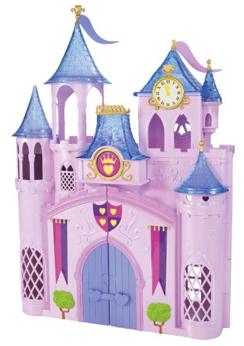 mattel disney mega castillo de princesas disney. Black Bedroom Furniture Sets. Home Design Ideas
