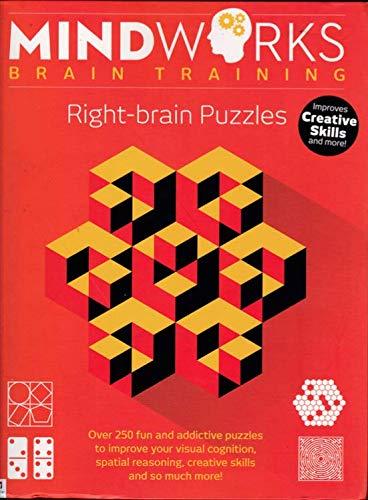 Mindworks Brain Training: Right-Brain Puzzles: Hinkler Books