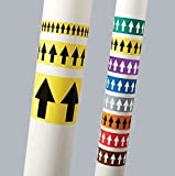 Incom PMA258 Manufacturing: Directional Flow Arrow