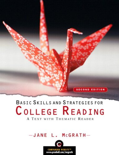 Basic Skills and Strategies for College Reading: A Text with Thematic Reader (with MyReadingLab Student Access Code Card
