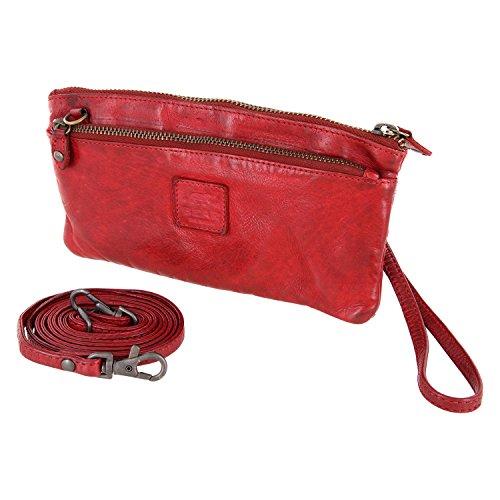 Bear Design CL13997 tressé en dragonne 2 à avec 20 bandoulière cm monnaie lavée 12 Rouge porte sac cuir 7rqZdOr