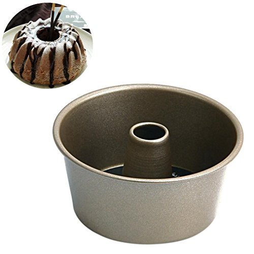 (Hometom Nonstick Cake Pans, Non-Stick Pineapple Chiffon Bakeware mold Carbon Steel Fluted Cake Baking Pan (A))