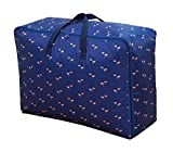 Storage Bags for Bedding, Pillows, Towel - Dark Blue