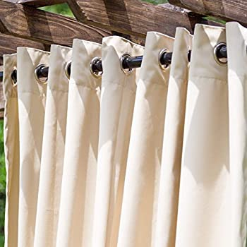 Amazon.com : cololeaf Outdoor Curtains for Patio Extra ...