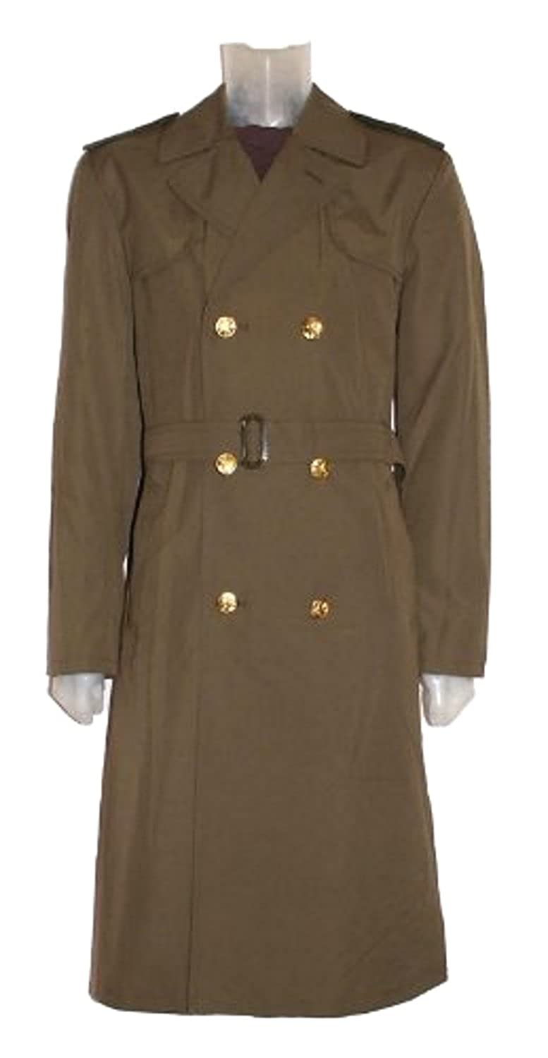 New Original Czech Military Trench Coat (Small): Amazon.co.uk ...