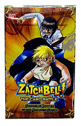 (ZatchBell The Card Battle Supreme Power of The Golden Spell Booster Pack)