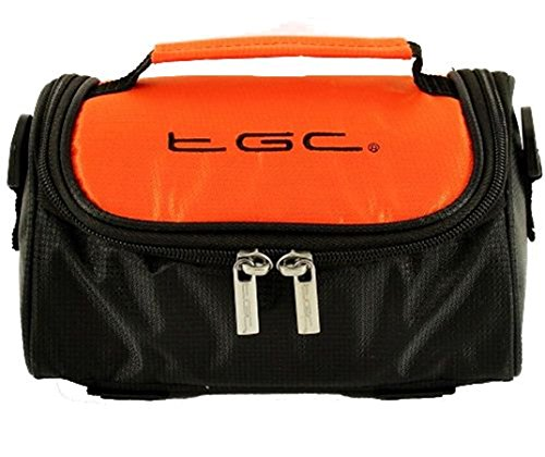 Woman Tgc For Shoulder Hot Orange Brown Leatherette Black Bag amp; xqTtPwqB