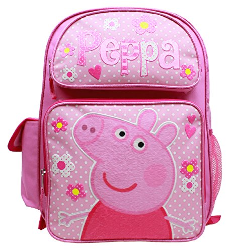 [ペッパピッグ]Peppa Pig Large Backpack #PI 30171 [並行輸入品]   B01HSOQSVA
