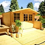 BillyOh Pathfinder Lodge Log Cabin 19mm Wall Thickness 3.0m x 2.5 m
