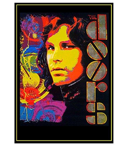 Jim Morrison Blacklight Poster