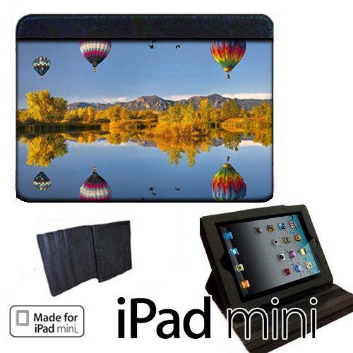 Hot Air Balloons Apple iPad Mini Fabric Notebook Case / C...