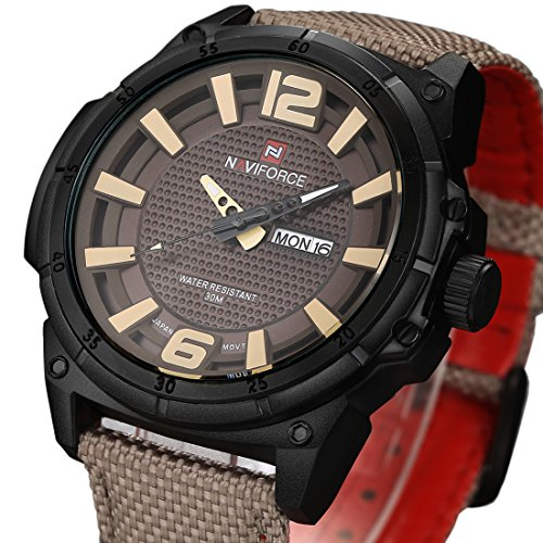 Tamlee Luxury Quartz Military Leather product image