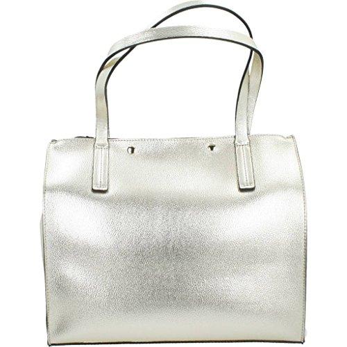 Shoppers y bolsos de hombro para mujer, color gold , marca GUESS, modelo Shoppers Y Bolsos De Hombro Para Mujer GUESS HWMG67 Gold Gold