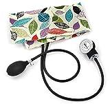 Prestige Medical Premium Adult Aneroid Sphygmomanometer, Leaves Cream