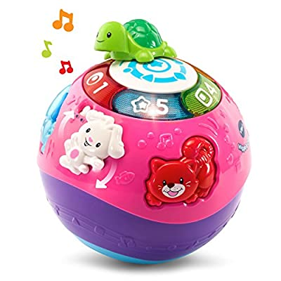 VTech Wiggle & Crawl Ball, Purple ( Exclusive): Toys & Games
