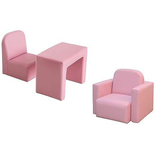 Czp Mini sofá para niños, Mesa, Silla, sillón, Asiento ...
