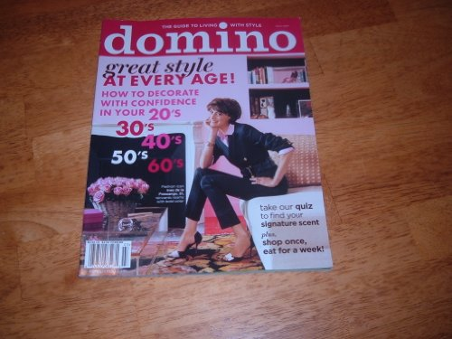 Domino Magazine, March 2009, Final Issue