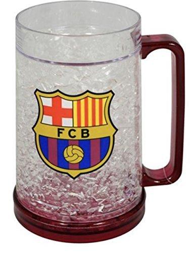 FC Barcelona Taza de congelador, producto oficial del FC Barcelona, ideal para todos los fans de Barca, hombres y mujeres...