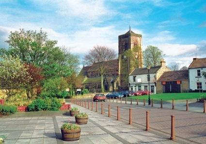 Scenic Photos Cramlington Village Postcard