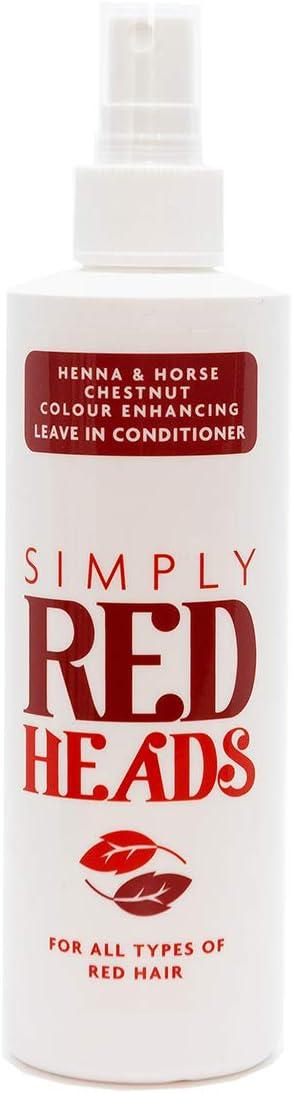 Simply Redheads Acondicionador para cabello de jengibre, pelirrojas y morenas