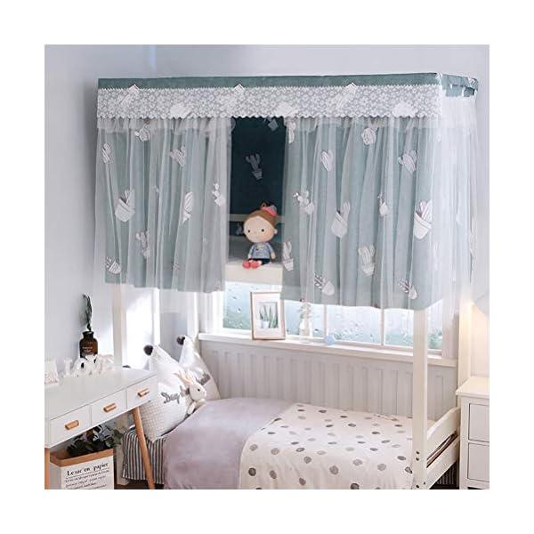 ZXYSR Dormitorio per Studenti Tenda per Letto Dormitorio Blackout Tenda per Letto Zanzariera Tenda per Letto A Castello… 1 spesavip