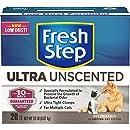 Fresh Step Ultra, Clumping Cat Litter, Unscented, 20 Pounds