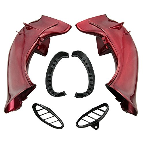 GZYF Red Ram Air Intake Tube Duct for 2004 2005 2006 YZF-R1: