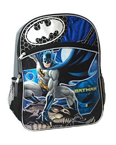 Batman 16 Inch Backpack by DC Comics (Dc Backpacks For Boys)