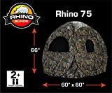 Rhino Blinds R75-RTE 2 Person Hunting Ground