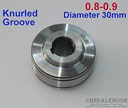 Wire Feed Roller Knurled Groove 0.8-0.9 MUREX SAF,ETC PORTAMIG ESAB TECARC