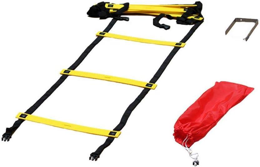 Boje Sport Escalera de coordinación Premium Plana - 4 m, peldaños ...