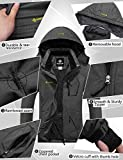 GEMYSE Women's Mountain Waterproof Ski Snow Jacket