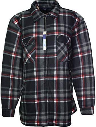 DSP Clothing Acolchado Camiseta para Hombre Camisas de leñador de Piel de Interior 3 x l 4 x l 5 x l: Amazon.es: Ropa y accesorios