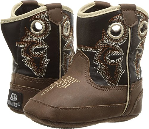 M&F Western Baby Boy's Bucker Trace (Infant/Toddler) Brown/Black 2 M US Infant