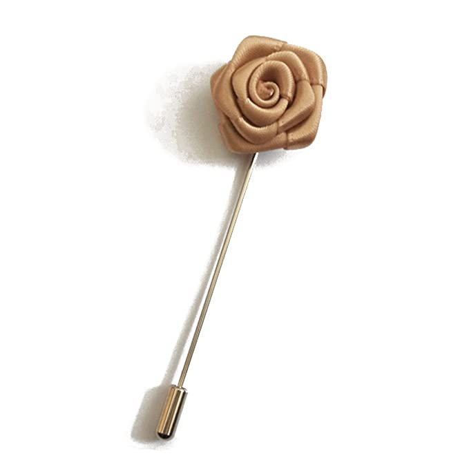 Amazon.com: SUNNY Hogar de los hombres Rose Stick broche Pin ...