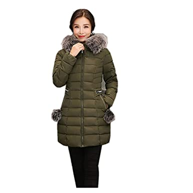 0694cad10a Amazon.com  POTO Women Coats Plus Size