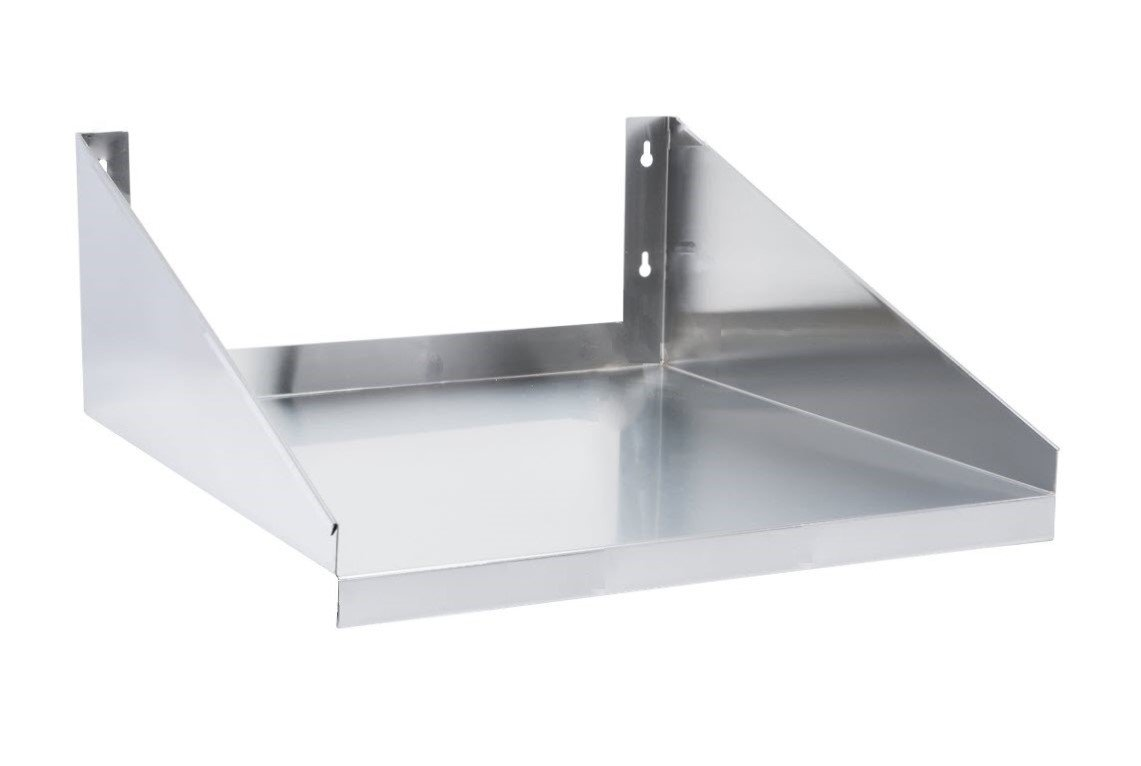 24'' x 18'' Stainless Steel Microwave Shelf (24 x 18 inches) by Rack-R