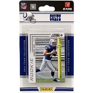 NFL Indianapolis Colts 2012 Score Team Set