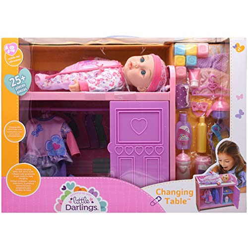 Little Darlings Baby Doll with Changing Table