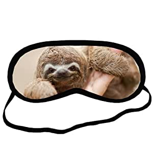 Futefew Creative Funny Animal Cute Sloth Baby Pattern Sleeping Mask,Fashionable Blindfold ,Personalized Blind Pack,Eyeshade,Eye Patch