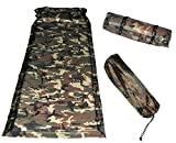 US Military Camouflage Extensible Self Inflating Sleeping Pad Camping ...