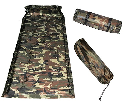 Military Camouflage Extensible Inflating Sleeping