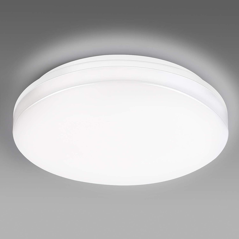 EDISLIVE Bathroom Ceiling Light Waterproof IP44, 15W 1800lm WAS £19.98 NOW £9.99 w/code HKJJEYAD @ Amazon
