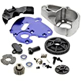 Traxxas 1 16 Grave Digger 55T SPUR - 23T PINION GEAR - SLIPPER & MOTOR PLATE